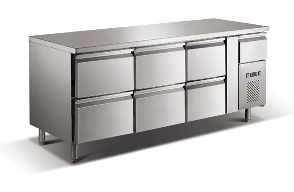 S/S  Drawer Refrigerator for kitchen use