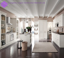 White plywood modern kitchen cabinet designs