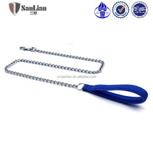 Promotion pet products personalized pet chain dog chain and leash
