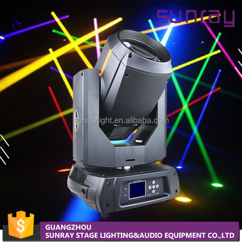 18 Channels Auto Operation Control 350W 17R Spot Beam Night Club Dj Stage Light Lighting Moving Head Led For Sale