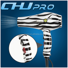 No noise hair dryer water transfer printing product zebra blow dryer