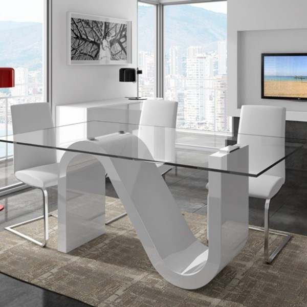 High Quality Glass Mirrored Dining Room Table Buy Glass