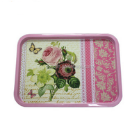rectangular metal tin tray wholesale