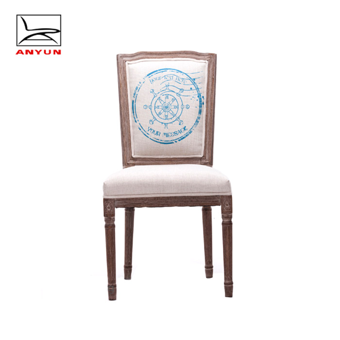 China wholesale hotel furniture <strong>antique</strong> wooden navy chairs for banquet hall