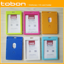 colorful vertical student id card holder