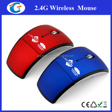 2.4Ghz Folding Wireless Drivers USB Optical Mouse