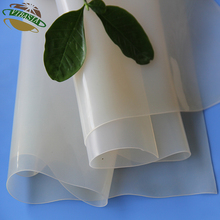 Top Quality Transparent Silicone Rubber Sheet 2mm for Vacuum Press
