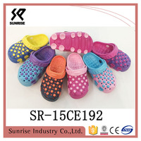 2016 summer collection custom patch charms latest clogs latest footwears eva footwear