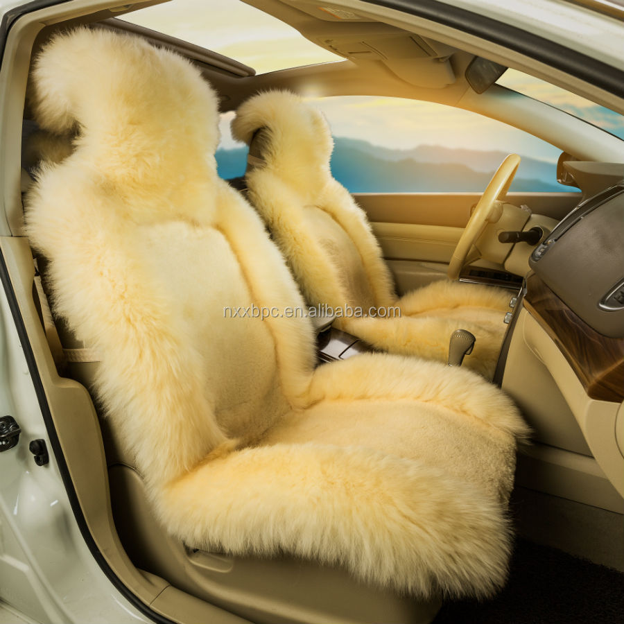Austalia skin cushion without filling/Plush Long short hair Australian sheepskin car seat cover/Fluffy Australian Sheep