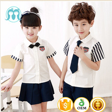 Bulk school uniform designs Primary School Uniform Shirts and Skirts Philippines high school uniforms korean children clothes