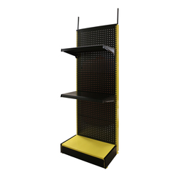 supermarket metal display rack with sign holder , advertising display stand , all-wire spinner display