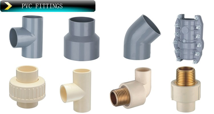 Different color plastic pvc fittings sch buy