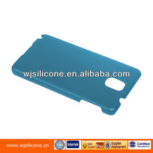 Blue Hard Plastic Rubber Coating Phone Case for Samsung Galaxy Note 3
