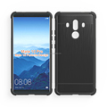 alpha design brushed metal alpha design air cushion shock proof tpu soft case for Huawei mate 10 pro mibole phone back cover