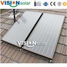 High quality black chrome coating solar heat panel price for hot water