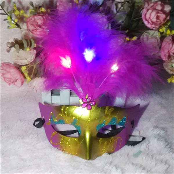 Factory offer price full color Hot sale popular full face Led Iron Man eye mask led party mask