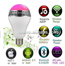CRI 80 Luminum RGBW Wifi Bluetooth Smart Led Bulb Lighting,Led Light Bulb,Led Bulb Lighting