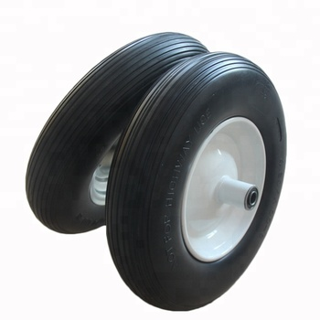 China Rims And Tires For Wheel Barrow Trolley Cart