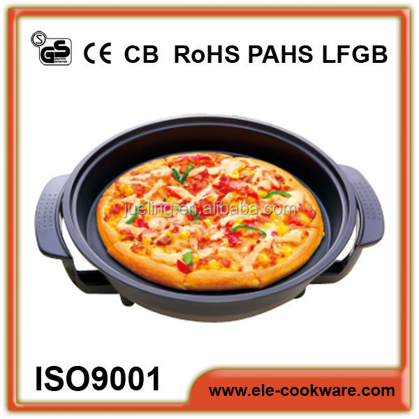 Electrical pizza pan cookware set