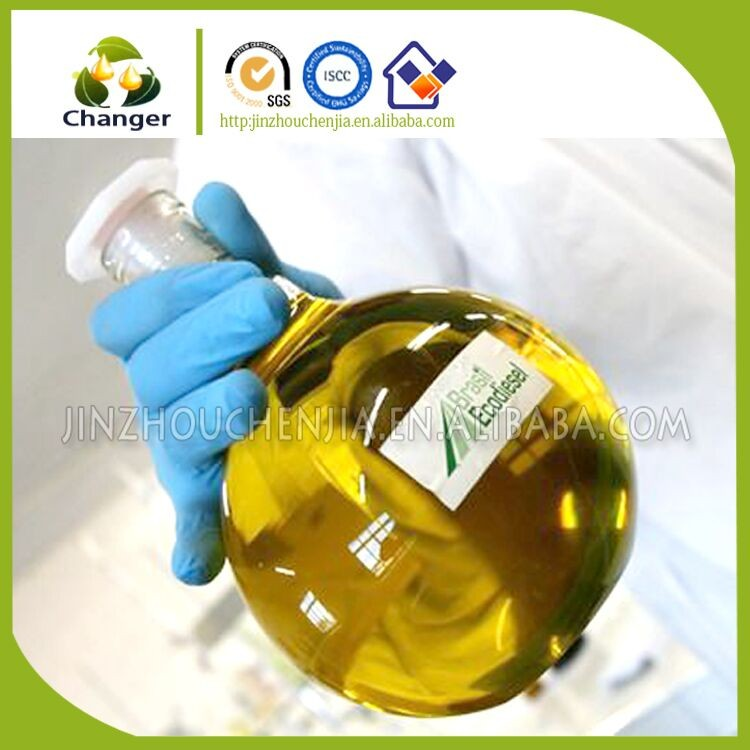 Brown liquid Used Vegetable Cooking Oil for Biodiesel Manufacturer price with ISCC