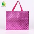 Environmental recyclable multifunctional laminated shopping non woven bag