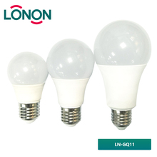 Plastic clad dia70*90mm 3000K4000K5000K6400K 11W E27 energy saving led bulb