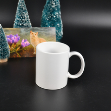 hight quality products pure white ceramic mug with coating sublimation tranfer printing