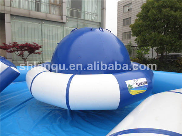 inflatable saturn/disco boat inflatable /inflatable disco boat water toy for sale
