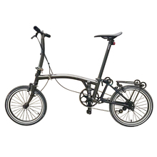 Gr9 Titanium alloy rechargeable folding <strong>bike</strong> brompton <strong>bike</strong> 16'