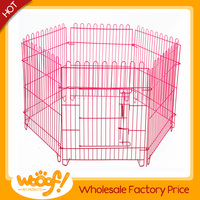 Hot selling pet dog products high quality 10x10x6 foot classic galvanized outdoor dog kennel