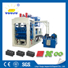 environmental small noise automatic engine cylinder QT8-15 cement block machine