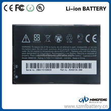 BB96100 1300mAh rechargeable replacement battery for HTC G11 7 Mozart T8698/Desire Z A7272