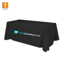 Light promotional 6 feet Fitted Trade show table cloth