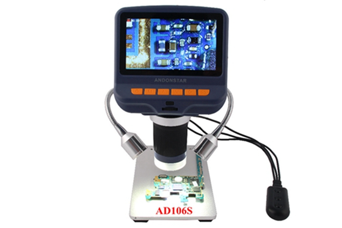 4.3 inch HD Display SMD Tool Soldering Tool Jewelry Appraisal Phone Repair AD106S USB Digital Microscope