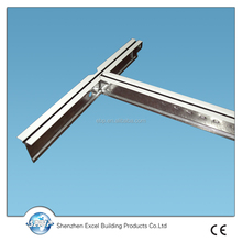 Metal t bar ceiling grid high demand products in IRAN