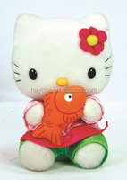 Hayidai dressed soft cat toys 8""