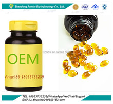 High Quality Deep Sea Omega 3 Fish Oil Soft Gel Capsule OEM 1000mg