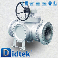 Didtek Fast Delivery Normal Temperature ball valve cf8m 1000 wog