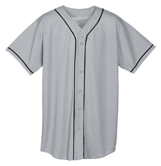 American fashion blank custom baseball jersey