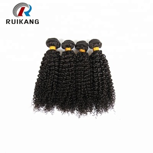 Hot sale cheap brazilian human kinky curly hair weave