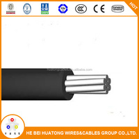 Low voltage all aluminum conductor 185mm2 aac overhead line cable