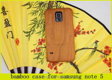 2015 hot selling factory price Custom design bamboo case for samsung galaxy s5