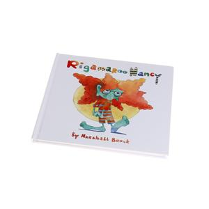 Kids education book custom printing learning english books