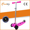 LED adult kick scooter pink for girls