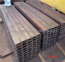 A36/SS400/Q235/JIS Standard c channel steel/u channel sizes