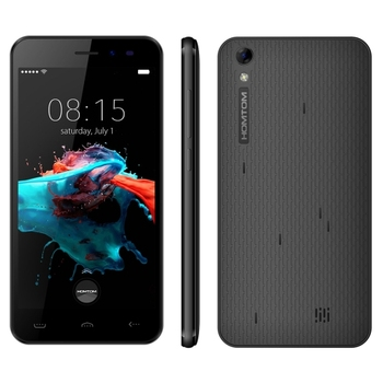free sample free shipping Discount HOMTOM HT16 8GB, Network: 3G,5.0 inch Android 6.0 MTK6580 Quad Core 1.3 GHz , RAM: 1GB(Black)