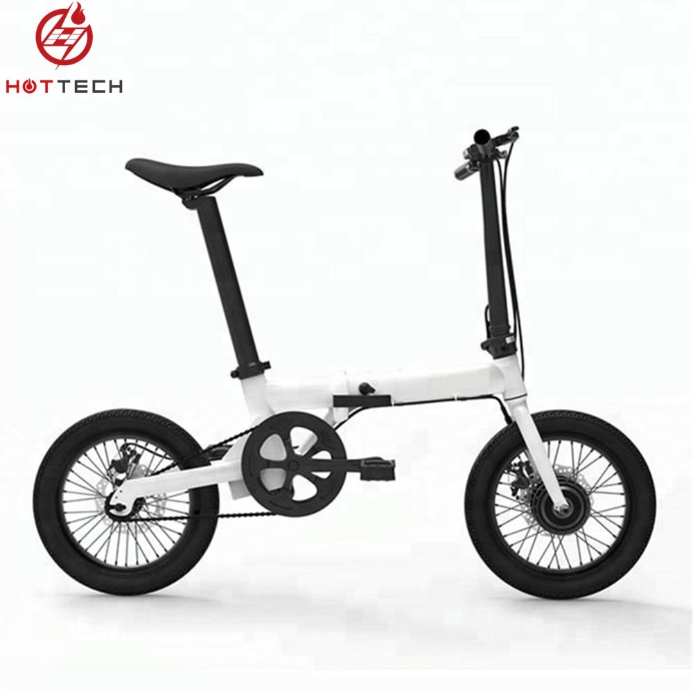 Hottech lightest 16 inch 36V 250W electric folding bike / bicycle with <strong>CE</strong> & EN15194 Certification