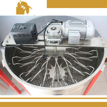 china factory direct sale electric 12 frames radial honey extractor