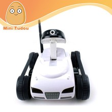 4 Channel Wifi Remote Control tank With Camera controlled by iPhone Android mobile phone