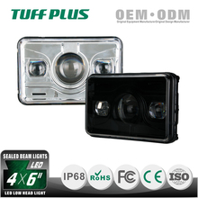 China wholesale only driving beam 4x6 led headlight dot for truck